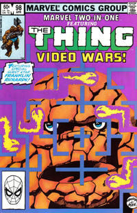 Cover Thumbnail for Marvel Two-in-One (Marvel, 1974 series) #98 [Direct]