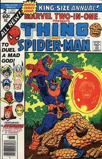 Cover Thumbnail for Marvel Two-In-One Annual (Marvel, 1976 series) #2