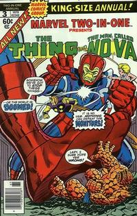 Cover Thumbnail for Marvel Two-In-One Annual (Marvel, 1976 series) #3