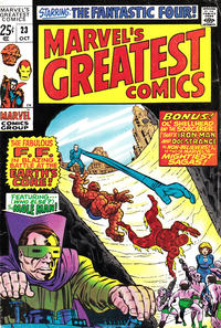 Cover Thumbnail for Marvel's Greatest Comics (Marvel, 1969 series) #23