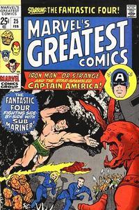 Cover Thumbnail for Marvel's Greatest Comics (Marvel, 1969 series) #25