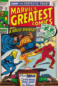 Cover Thumbnail for Marvel's Greatest Comics (Marvel, 1969 series) #26