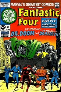 Cover Thumbnail for Marvel's Greatest Comics (Marvel, 1969 series) #31