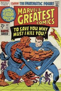 Cover Thumbnail for Marvel's Greatest Comics (Marvel, 1969 series) #32