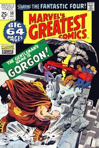 Cover Thumbnail for Marvel's Greatest Comics (Marvel, 1969 series) #33