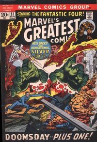 Cover Thumbnail for Marvel's Greatest Comics (Marvel, 1969 series) #37
