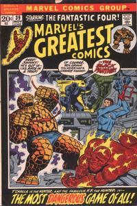 Cover Thumbnail for Marvel's Greatest Comics (Marvel, 1969 series) #39