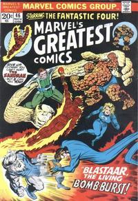 Cover Thumbnail for Marvel's Greatest Comics (Marvel, 1969 series) #46
