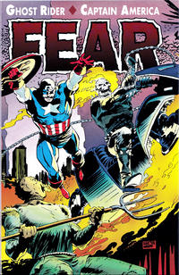 Cover Thumbnail for Ghost Rider / Captain America: Fear (Marvel, 1992 series)  [Direct]