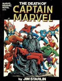 Cover Thumbnail for Marvel Graphic Novel (Marvel, 1982 series) #[1] - The Death of Captain Marvel