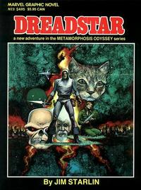 Cover for Marvel Graphic Novel (Marvel, 1982 series) #3 - Dreadstar
