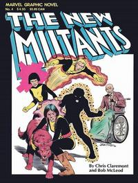Cover Thumbnail for Marvel Graphic Novel (Marvel, 1982 series) #4 - The New Mutants