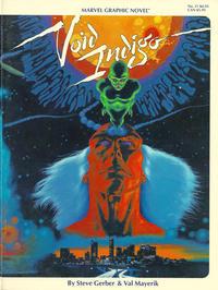 Cover Thumbnail for Marvel Graphic Novel (Marvel, 1982 series) #11 - Void Indigo