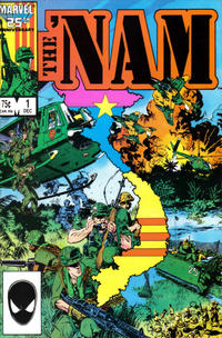 Cover Thumbnail for The 'Nam (Marvel, 1986 series) #1 [Direct Edition]