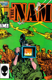 Cover Thumbnail for The 'Nam (Marvel, 1986 series) #4 [Direct]