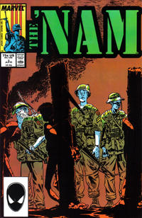 Cover Thumbnail for The 'Nam (Marvel, 1986 series) #5 [Direct]