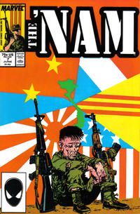 Cover Thumbnail for The 'Nam (Marvel, 1986 series) #7 [Direct]