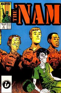 Cover Thumbnail for The 'Nam (Marvel, 1986 series) #9 [Direct Edition]