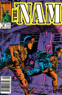Cover Thumbnail for The 'Nam (Marvel, 1986 series) #10 [Newsstand]