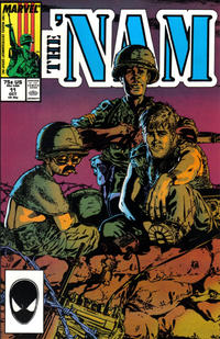 Cover Thumbnail for The 'Nam (Marvel, 1986 series) #11 [Direct]