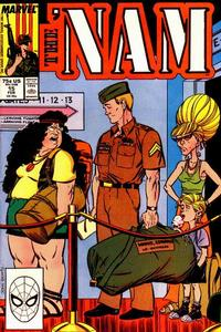 Cover Thumbnail for The 'Nam (Marvel, 1986 series) #15 [Direct]