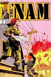 Cover Thumbnail for The 'Nam (Marvel, 1986 series) #21
