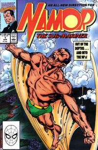 Cover Thumbnail for Namor, the Sub-Mariner (Marvel, 1990 series) #1 [Direct]