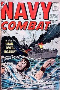 Cover Thumbnail for Navy Combat (Marvel, 1955 series) #16