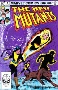 Cover Thumbnail for The New Mutants (Marvel, 1983 series) #1 [Direct Edition]