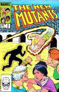 Cover Thumbnail for The New Mutants (Marvel, 1983 series) #9 [Direct Edition]