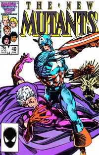 Cover Thumbnail for The New Mutants (Marvel, 1983 series) #40 [direct]