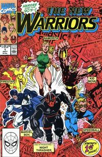 Cover Thumbnail for The New Warriors (Marvel, 1990 series) #1