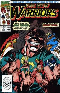 Cover Thumbnail for The New Warriors (Marvel, 1990 series) #3 [Direct]