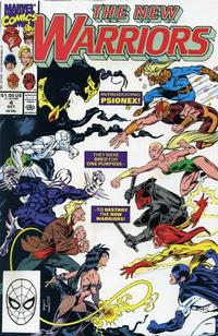 Cover Thumbnail for The New Warriors (Marvel, 1990 series) #4