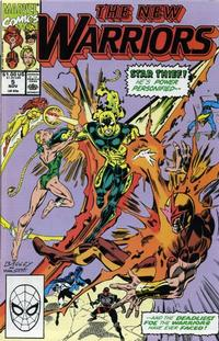 Cover Thumbnail for The New Warriors (Marvel, 1990 series) #5