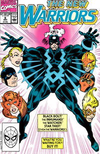 Cover Thumbnail for The New Warriors (Marvel, 1990 series) #6