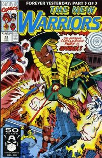 Cover Thumbnail for The New Warriors (Marvel, 1990 series) #13