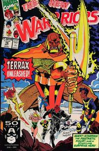 Cover Thumbnail for The New Warriors (Marvel, 1990 series) #16 [Direct]