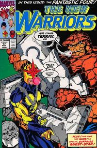 Cover Thumbnail for The New Warriors (Marvel, 1990 series) #17