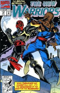 Cover Thumbnail for The New Warriors (Marvel, 1990 series) #18