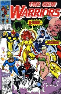 Cover Thumbnail for The New Warriors (Marvel, 1990 series) #19