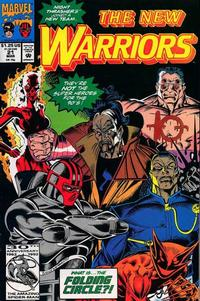 Cover Thumbnail for The New Warriors (Marvel, 1990 series) #21
