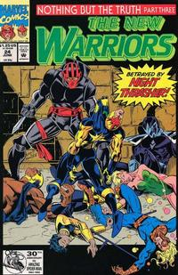 Cover Thumbnail for The New Warriors (Marvel, 1990 series) #24
