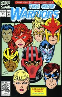 Cover Thumbnail for The New Warriors (Marvel, 1990 series) #25