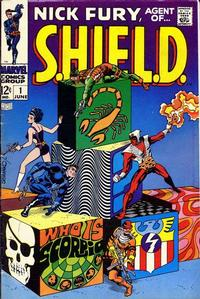 Cover Thumbnail for Nick Fury, Agent of SHIELD (Marvel, 1968 series) #1