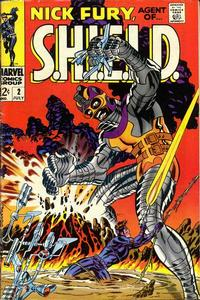 Cover Thumbnail for Nick Fury, Agent of SHIELD (Marvel, 1968 series) #2