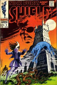 Cover Thumbnail for Nick Fury, Agent of SHIELD (Marvel, 1968 series) #3
