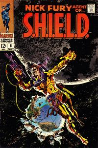 Cover Thumbnail for Nick Fury, Agent of SHIELD (Marvel, 1968 series) #6