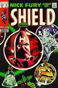 Cover Thumbnail for Nick Fury, Agent of SHIELD (Marvel, 1968 series) #10