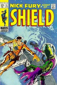 Cover Thumbnail for Nick Fury, Agent of SHIELD (Marvel, 1968 series) #11